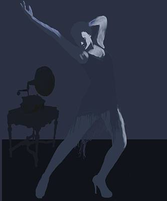 Dark Dancer Poster by Stacy Parker