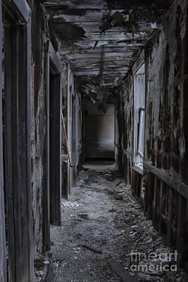 Dark Halls Poster by Margie Hurwich