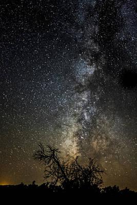 Dark Kansas Skies Poster