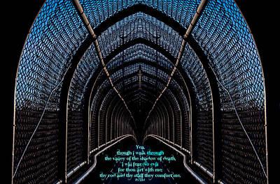 Dark Passage W Ps 23 4 Poster