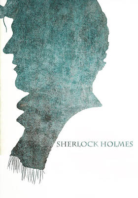 Dark Sherlock Holmes Poster by Georgia Fowler