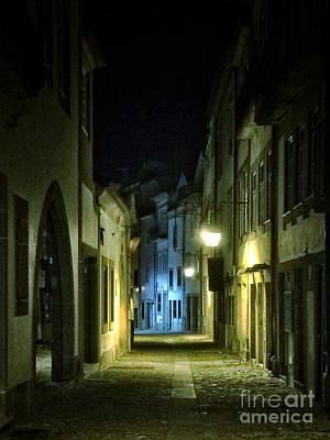 Dark Street Poster by Carlos Caetano