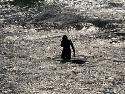 Poster featuring the photograph Dark Surf by Tara Lynn