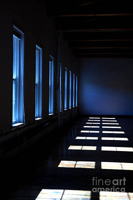 Dark Windowed Room Poster by Diane Diederich