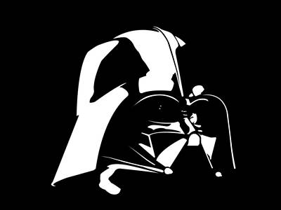 Darth Vader Poster by Nathan Shegrud