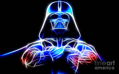 Darth Vader - The Force Be With You Poster