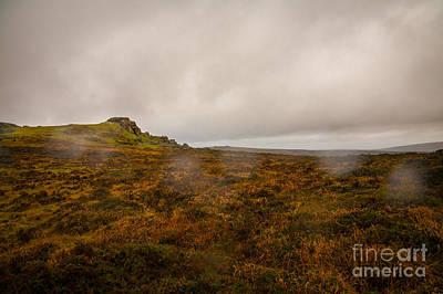 Dartmoor Rain Poster by Jan Bickerton