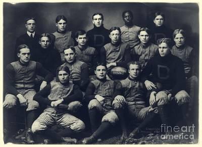 Dartmouth Football Team 1901 Poster by Edward Fielding