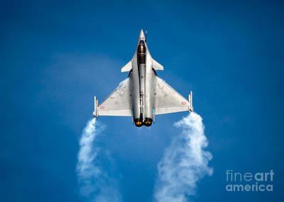 Dassault Rafale Poster by Rastislav Margus