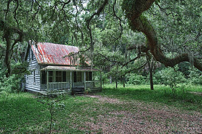 Daufuskie Homestead Poster by Renee Sullivan