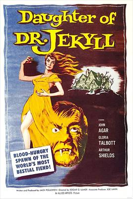 Daughter Of Dr. Jekyll, Us Poster Poster by Everett