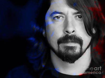 Dave Grohl Poster by Marvin Blaine