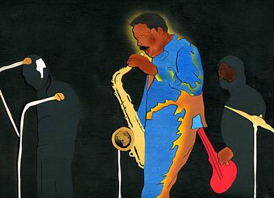 David Fathead Newman Poster