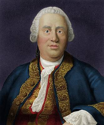 David Hume Poster by Maria Platt-evans