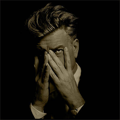 David Lynch Hands Poster