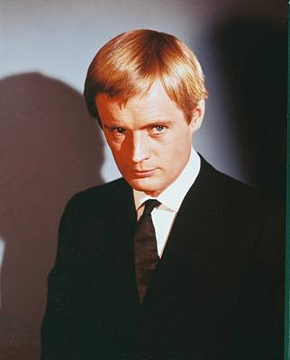 David Mccallum In The Man From U.n.c.l.e. Poster by Silver Screen