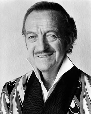 David Niven In Trail Of The Pink Panther  Poster by Silver Screen