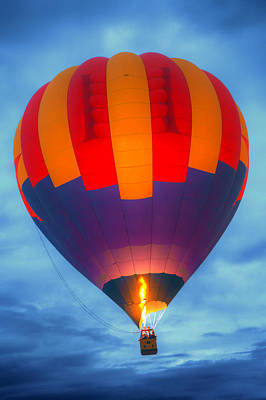 Dawn Ascension - Hot Air Balloon Poster