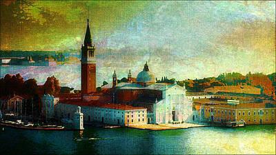 Dawn San Giorgio Maggiore Poster