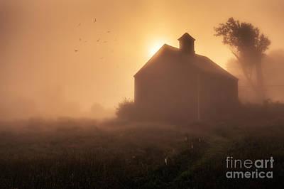 Dawn Breaks Poster by Edward Fielding