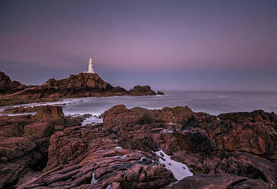 Dawn Hues At La-corbiere Poster