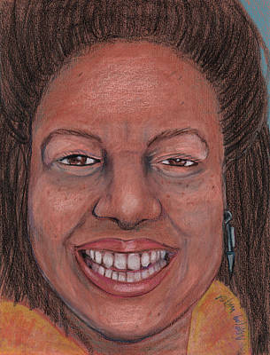 Dawn Mckenzie By Robin Holder Poster by Robin Holder
