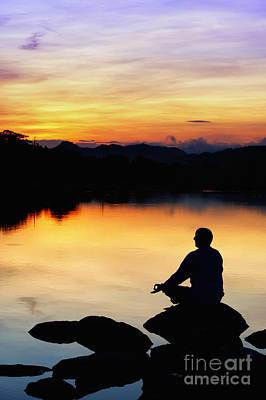 Dawn Meditation Poster by Tim Gainey