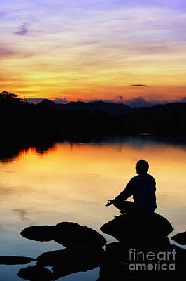 Dawn Meditation Poster