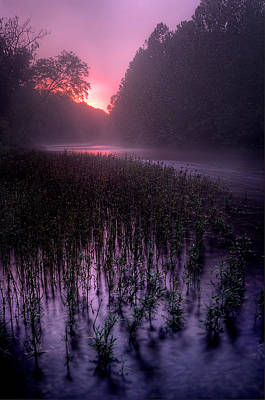Dawn Mist Poster