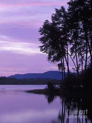 Dawn On Deam Lake - Fm000087 Poster by Daniel Dempster
