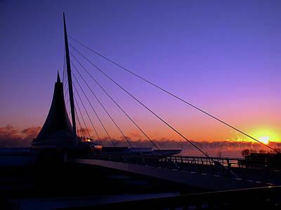 Poster featuring the photograph Dawn Over The Calatrava by Chuck De La Rosa