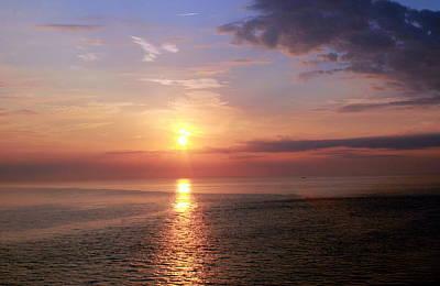 Dawning Sunrise Poster by Deborah  Crew-Johnson