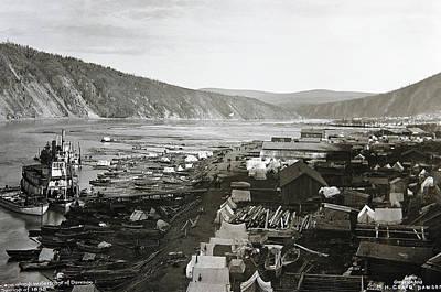 Dawson City Yukon Canada 1898 Poster by Daniel Hagerman