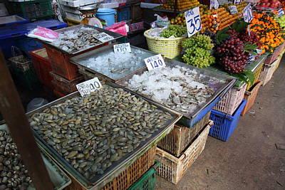 Day Market - Pak Chong Thailand - 011316 Poster