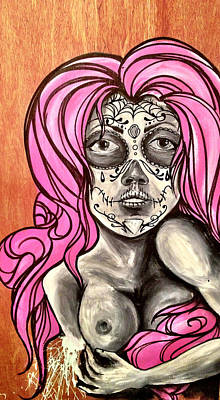 Day Of The Dead Girl Poster by Braylyn Stewart
