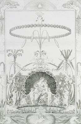 Day Poster by Philipp Otto Runge
