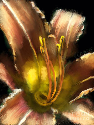 Daylily 2 Poster