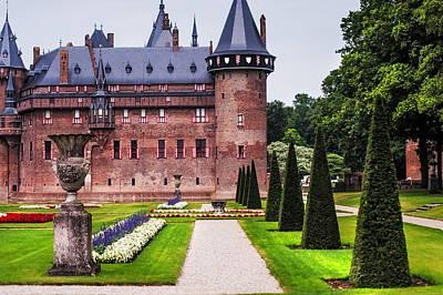 De Haar Castle 2. Utrecht. Netherlands Poster by Jenny Rainbow