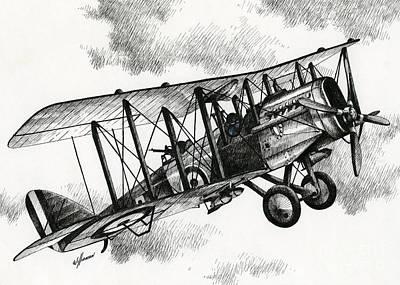 De Havilland Airco Dh.4 Poster by James Williamson