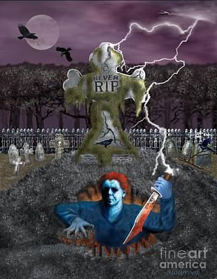 Dead Awakening Poster by Glenn Holbrook