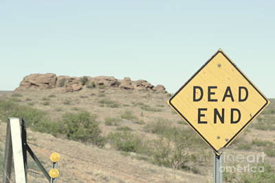 Poster featuring the photograph Dead End by Utopia Concepts