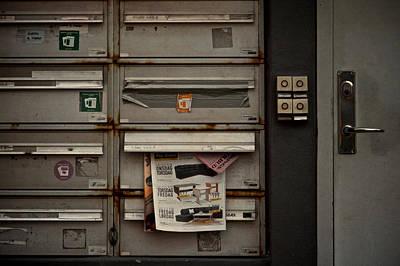 Dead Letters Poster by Odd Jeppesen