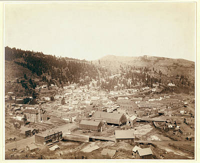 Deadwood, S.d. From Mcgovern Hill Poster