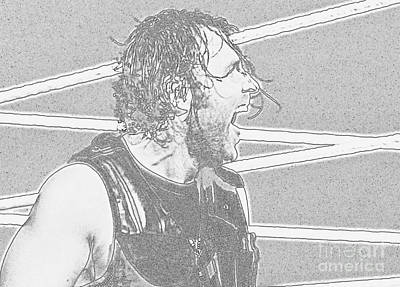 Dean Ambrose Poster by Paul  Wilford