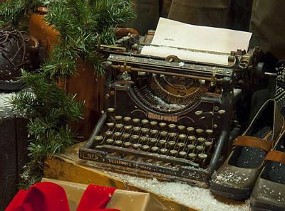 Dear Santa Poster by Craig T Burgwardt