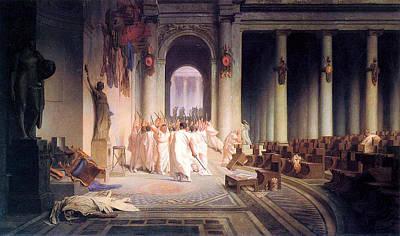 Death Of Caesar Poster