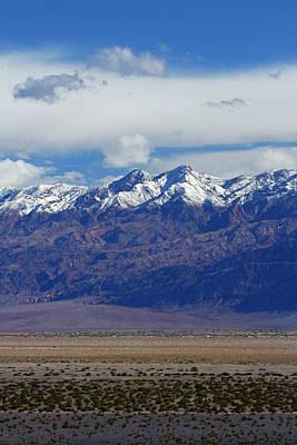 Death Valley Near Stovepipe Wells Poster
