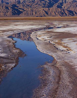 Death Valley Salt Stream 1 Poster
