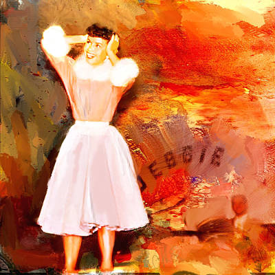 Debbie Reynolds Poster by Dale Stillman