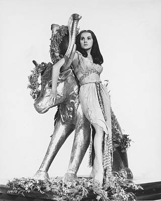 Debra Paget In The Ten Commandments Poster by Silver Screen